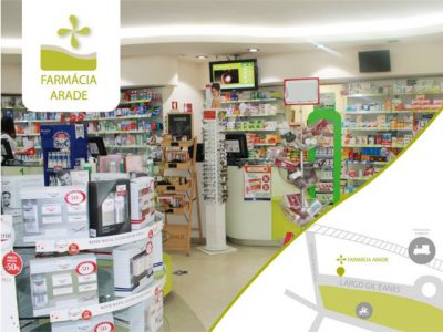 Farmácia Arade - Produtos Farmacêuticos e Serviços de Medicina
